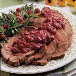 Pot Roast with Cranberry Sauce recipe