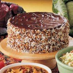 German Chocolate Sauerkraut Cake recipe