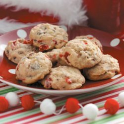 Cherry Chocolate Nut Cookies recipe