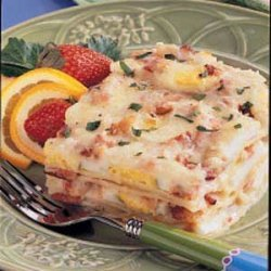 Bacon 'n' Egg Lasagna recipe