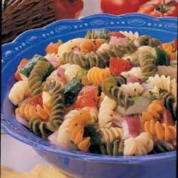 Sweet-Sour Pasta Salad recipe