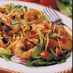 Shrimp Taco Salad recipe