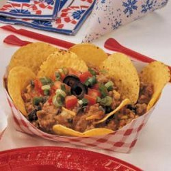 Blue-Ribbon Beef Nachos recipe
