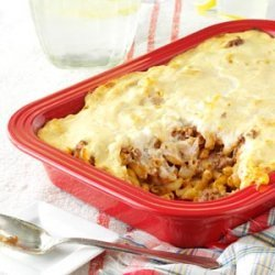Greek Pasta and Beef recipe