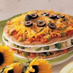 Vegetable Tortilla Stack recipe