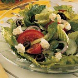 Tossed Greek Salad recipe