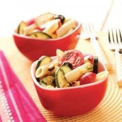 Grilled Corn Pasta Salad recipe