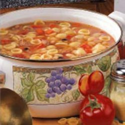 White Bean and Pasta Soup recipe