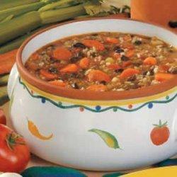 Beef 'n' Black Bean Soup recipe