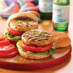 Juicy Turkey Burgers recipe