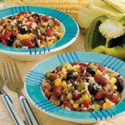 Southwestern Rice Salad recipe