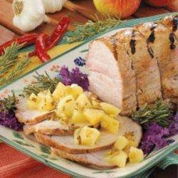 Grilled Rosemary Pork Roast recipe