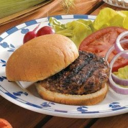 Grilled Beef Burgers recipe