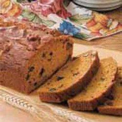 Whole Wheat Pumpkin Nut Bread recipe