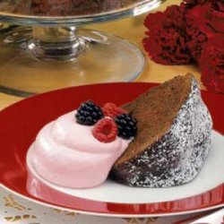 Chocolate Berry Pound Cake recipe