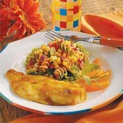 Corn Pasta Salad recipe