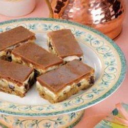 Chocolate Cheese Layered Bars recipe