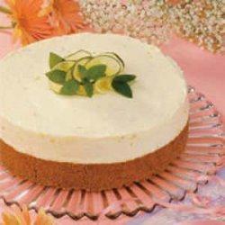 White Chocolate Lime Mousse Cake recipe