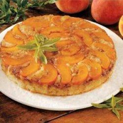 Makeover Peach Upside-Down Cake recipe