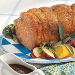 Grilled Pork Loin Roast recipe