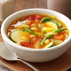 Summer Vegetable Soup recipe
