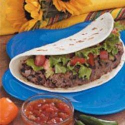 Soft Taco Burgers recipe