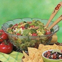Sweet 'n' Sour Tossed Salad recipe