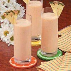 Peaches 'n' Cream Cooler recipe