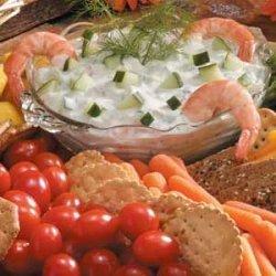 Cucumber-Dill Shrimp Dip recipe