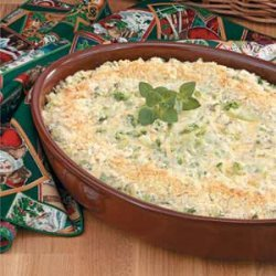 Makeover Creamy Broccoli Casserole recipe