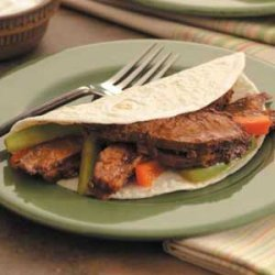 Flank Steak Fajitas recipe