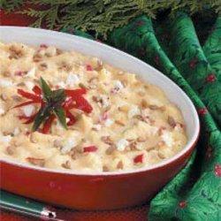 Acorn Squash Feta Casserole recipe
