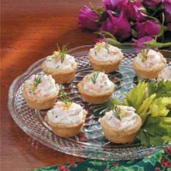 Salmon Mousse Cups recipe