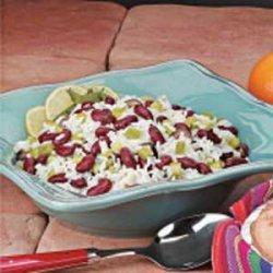 Southwestern Bean and Rice Salad recipe