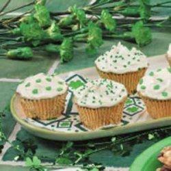 St. Patrick's Day Pistachio Cupcakes recipe