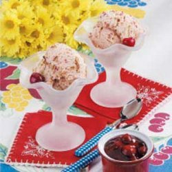 Cherry Crunch Ice Cream recipe