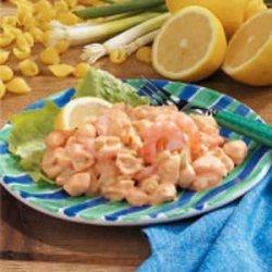 Shrimp Shell Salad recipe
