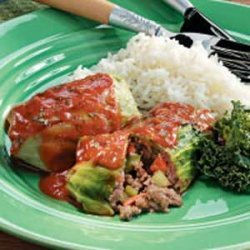 Beef Cabbage Roll-Ups recipe
