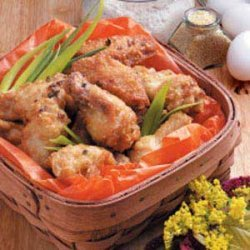 Deep-Fried Chicken Wings recipe
