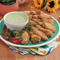Mexican Chicken Wings recipe