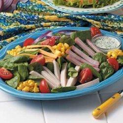 Chef's Spinach Salad recipe
