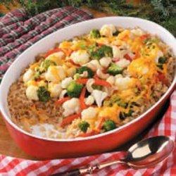 Brown Rice Vegetable Casserole recipe
