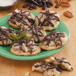 Coconut Pecan Cookies recipe
