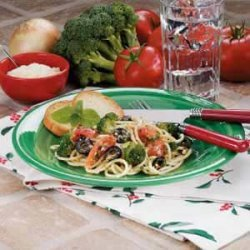 Broccoli n Tomato Pasta recipe
