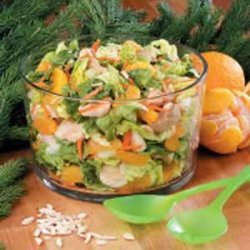Mandarin Orange Chicken Salad recipe