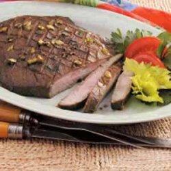 Teriyaki Flank Steak recipe