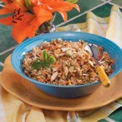 Three-Grain Pilaf recipe