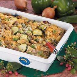 Veggie Sausage Strata recipe