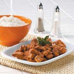 Braised Pork with Red Chili Sauce recipe