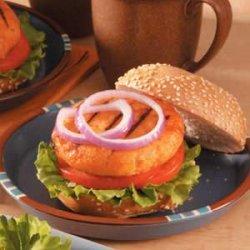 Teriyaki Salmon Burgers recipe